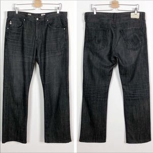 ag Protege Straight Leg Jeans Washed Black 34x32